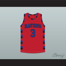 Lucas Scott One Tree Hill Ravens Red Basketball Jersey Any Number or Player