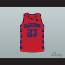Nathan Scott 23 One Tree Hill Ravens Red Basketball Jersey Any Player