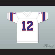 1974 WFL Bob Davis 12 Florida Blazers Home Football Jersey
