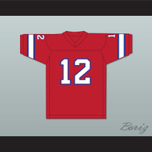 1974 WFL Bob Davis 12 Florida Blazers Road Football Jersey