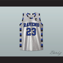 Nathan Scott 23 One Tree Hill Ravens Silver Basketball Jersey Any Player