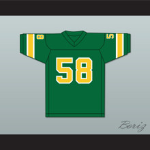 1974-75 WFL Bob Creech 58 Shreveport Steamer Road Football Jersey