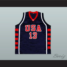 Tim Duncan USA Team Basketball Jersey New Any Size