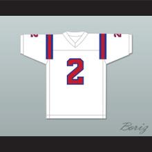 1983 USFL Trumaine Johnson 2 Chicago Blitz Home Football Jersey