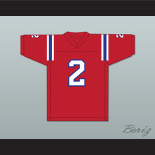 1983 USFL Trumaine Johnson 2 Chicago Blitz Road Football Jersey