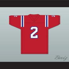1983 USFL Trumaine Johnson 2 Chicago Blitz Road Football Jersey