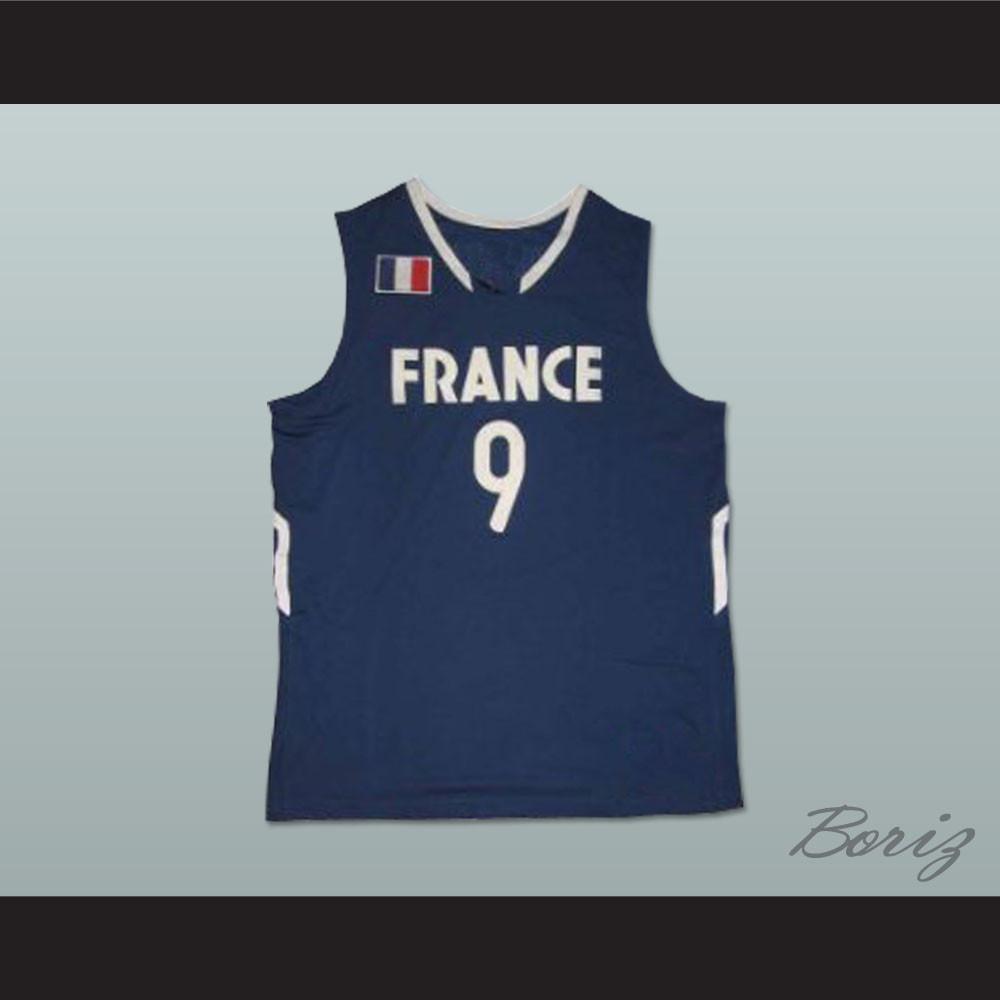 on sale 792c3 b829f Tony Parker France National Team Basketball Jersey