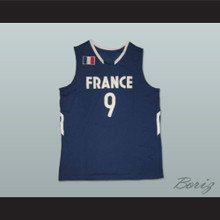 Tony Parker France National Team Basketball Jersey