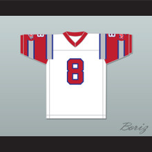1984 USFL Vince Evans 8 Chicago Blitz Home Football Jersey