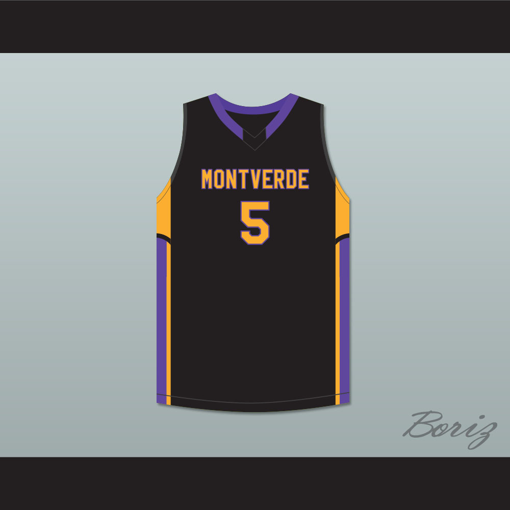 981d2f871fa1 R.J. Barrett 5 Montverde Academy Eagles Black Basketball Jersey. Price    52.99. Image 1