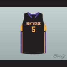 95c891960f8 Joel Embiid 23 Montverde Academy Eagles Junior Varsity Yellow ...