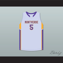 R.J. Barrett 5 Montverde Academy Eagles Gray Basketball Jersey