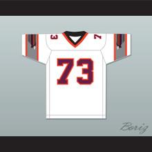 1984 USFL Ed Gantner 73 Jacksonville Bulls Home Football Jersey