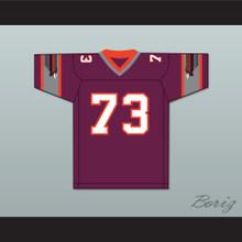 1984 USFL Ed Gantner 73 Jacksonville Bulls Road Football Jersey