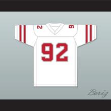 1984 USFL Reggie White 92 Memphis Showboats Home Football Jersey
