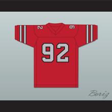1984 USFL Reggie White 92 Memphis Showboats Road Football Jersey