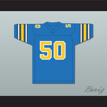1984 USFL Gary Plummer 50 Oakland Invaders Road Football Jersey