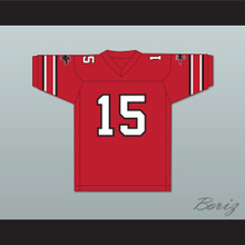1984 USFL Jimmy Jordan 15 Tampa Bay Bandits Road Football Jersey