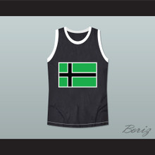 Type 0 Negative Vinnland Basketball Jersey Black Stitch Sewn