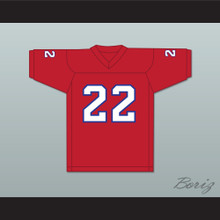 1985 USFL Doug Flutie 22 New Jersey Generals Road Football Jersey