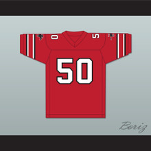 1985 USFL Ron Simmons 50 Tampa Bay Bandits Road Football Jersey