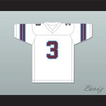 1983-84 USFL Bobby Hebert 3 Michigan Panthers Home Football Jersey