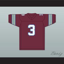 1983-84 USFL Bobby Hebert 3 Michigan Panthers Road Football Jersey