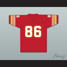1983-85 USFL Jim Smith 86 Birmingham Stallions Road Football Jersey