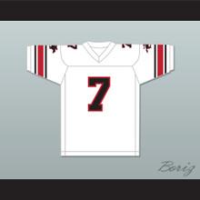 1983-85 USFL John Reaves 7 Tampa Bay Bandits Home Football Jersey
