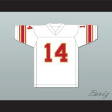 1984 USFL Chuck Fusina 14 Philadelphia Stars Home Football Jersey