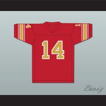 1984 USFL Chuck Fusina 14 Philadelphia Stars Road Football Jersey