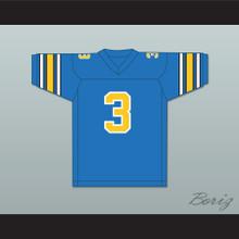 1985 USFL Bobby Hebert 3 Oakland Invaders Road Football Jersey
