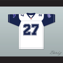 CFL Mike Pringle 27 Baltimore Stallions Home Football Jersey