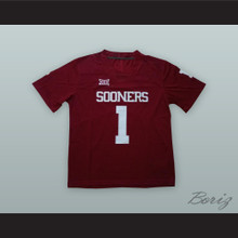 Kyler Murray 1 Oklahoma Sooners Maroon Football Jersey