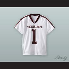 Kyler Murray 1 Texas A&M Aggies White Football Jersey