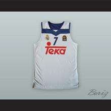 Luka Doncic 7 Real Madrid White Basketball Jersey 2