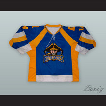 Arthur Kiyaga 14 Richmond Renegades Blue Hockey Jersey