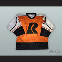 Peter Vandermeer 18 Richmond Renegades Orange Hockey Jersey