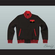 Angola Varsity Letterman Jacket-Style Sweatshirt