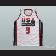 Michael Jordan 9 USA Basketball Jersey