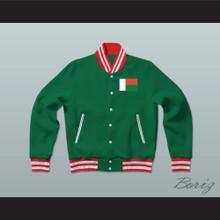 Madagascar Varsity Letterman Jacket-Style Sweatshirt