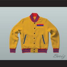 Armenia Varsity Letterman Jacket-Style Sweatshirt