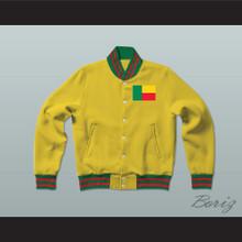 Benin Varsity Letterman Jacket-Style Sweatshirt