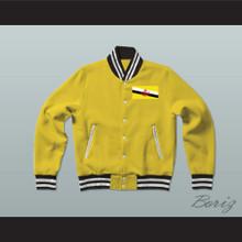 Brunei Varsity Letterman Jacket-Style Sweatshirt