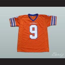 Adam Sandler Bobby Boucher The Waterboy Mud Dogs Football Jersey