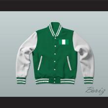 Nigeria Varsity Letterman Jacket-Style Sweatshirt