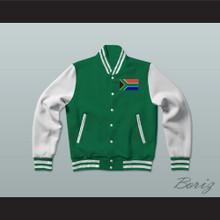 South Africa Varsity Letterman Jacket-Style Sweatshirt