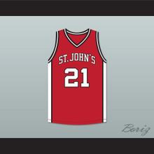 Malik Sealy 21 St. John's  Basketball Jersey