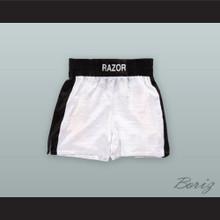 Henry 'Razor' Sharp White Boxing Shorts