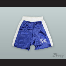 Sir Henry Cooper Blue Boxing Shorts